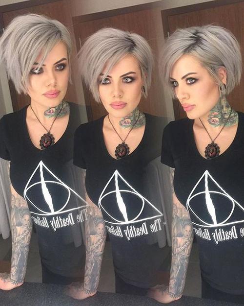 Short Grey Hair Styles-10