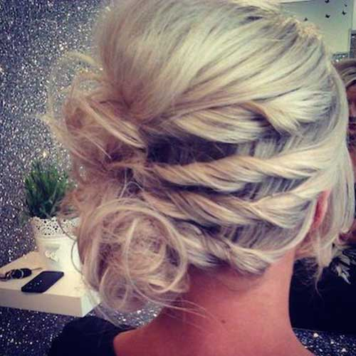 Cute Braided Bun Hairstyles For Short Hair : Cute buns for short hair hairstyles haircuts