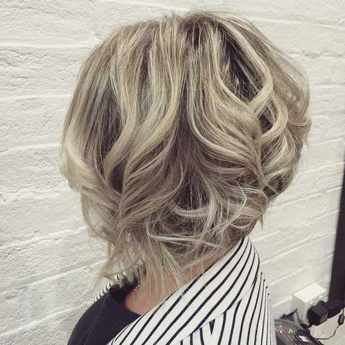 Hairstyles for Short Curly Hair-11