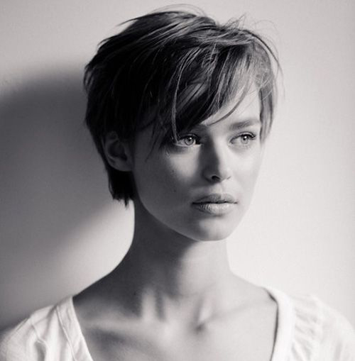 12.Hairstyle for Short Hair with Bangs