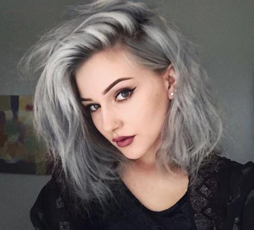 Short Grey Hair Styles-12