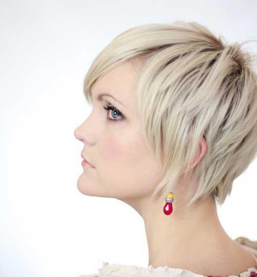 12.Short Textured Haircut