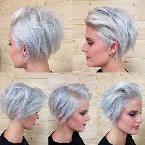 Short Grey Hair Styles-13