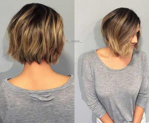 14.Short Textured Haircut