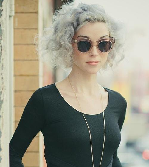 Short Grey Hair Styles-15