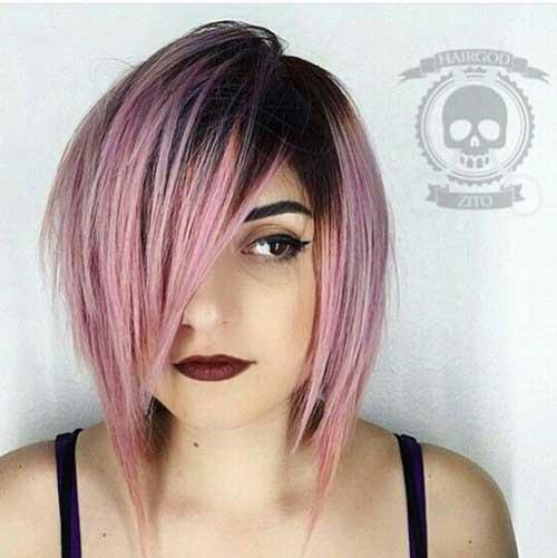 15.Trendy Bob Haircut