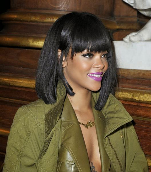 Sensational 20 Stylish Rihanna Bob Haircuts Short Hairstyles Haircuts 2015 Short Hairstyles Gunalazisus