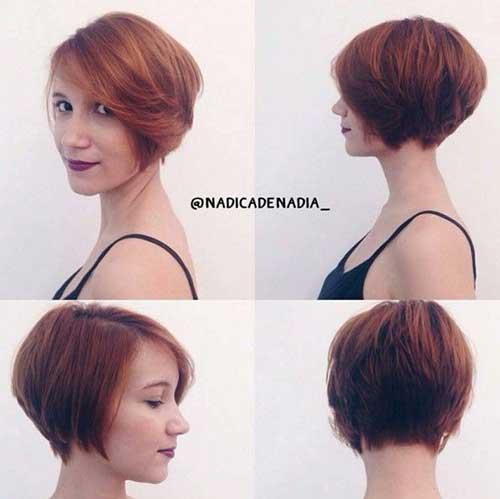19.Trendy Bob Haircut