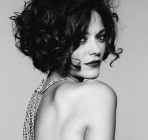Hairstyles for Short Curly Hair-20