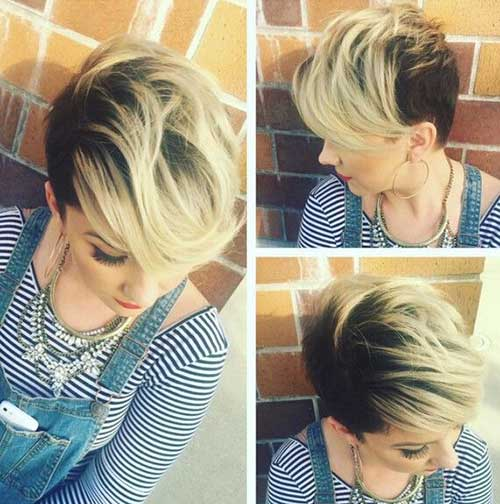 Cute Hair Styles for Short Hair-6