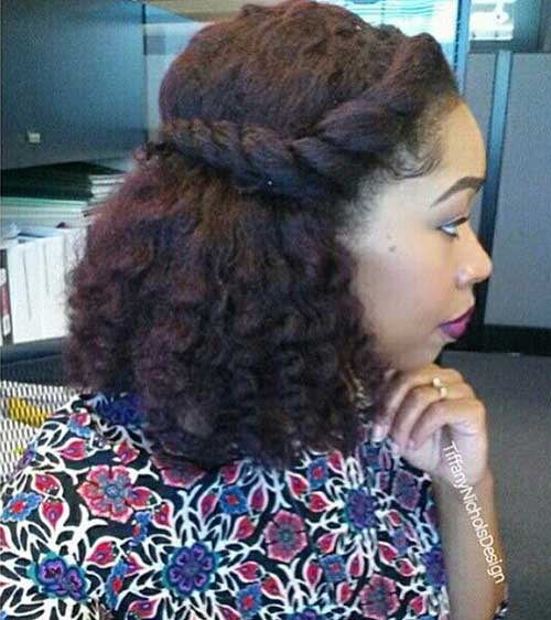Natural Short Curly Hairstyles-7