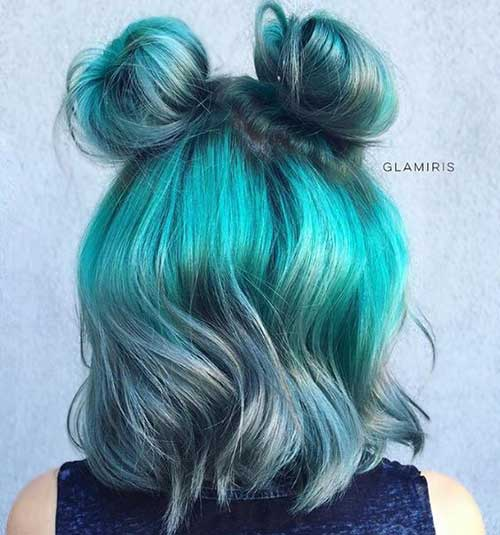 15 Cute Buns For Short Hair Short Hairstyles Amp Haircuts