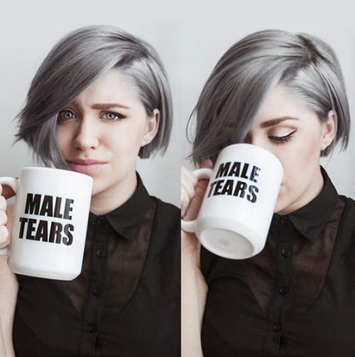 Short Grey Hair Styles-9