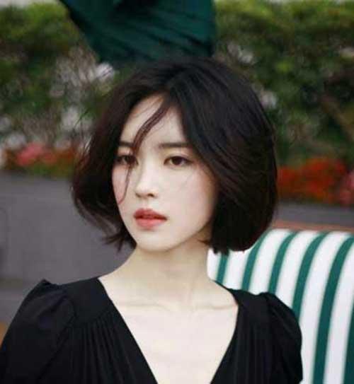 Asian hair short style