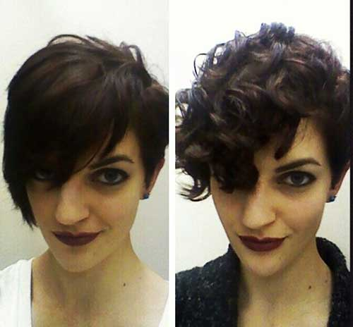 Best Hairstyle for Short Curly Hair