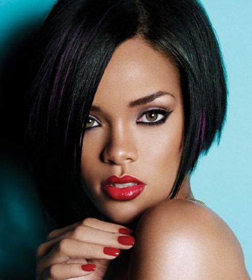 Rihanna Bob Hairstyles