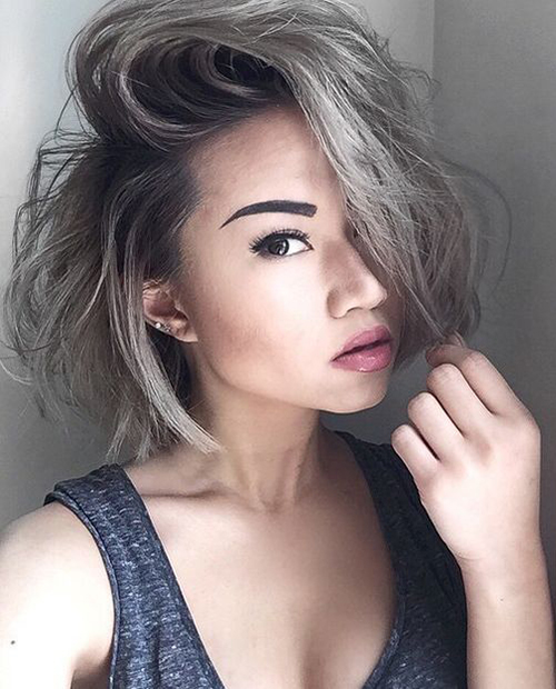 15 Short Grey Hair Styles Short Hairstyles Amp Haircuts 2017