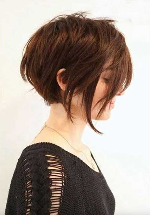 Short Textured Haircut