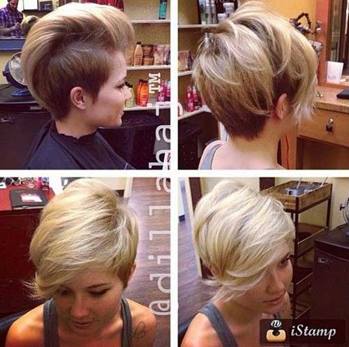 2014 Short Shaved Haircuts