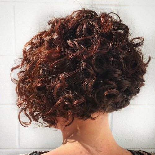 Short Curly Hairstyles-23