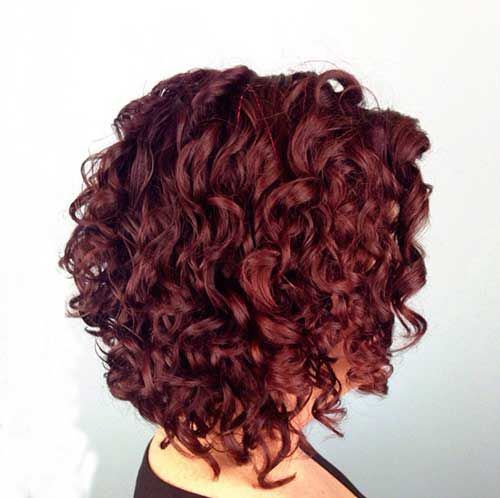 Short Curly Hairstyles-24
