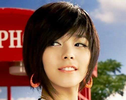 Asian Layered Cute Bob 2014-2015