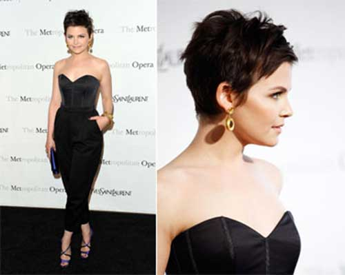 Beautiful Dark Pixie Cuts