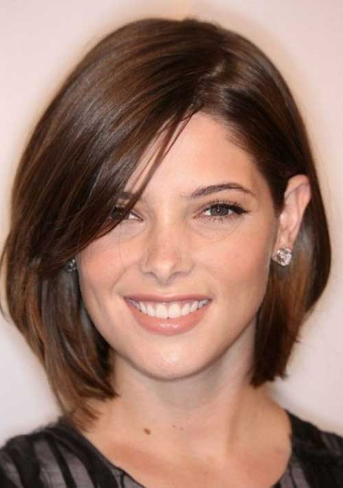 2014 2015 Short Haircuts For Round Faces 8