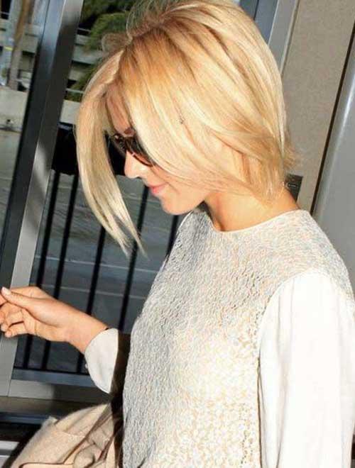 Best Straight Fine Blonde Short Hairstyles