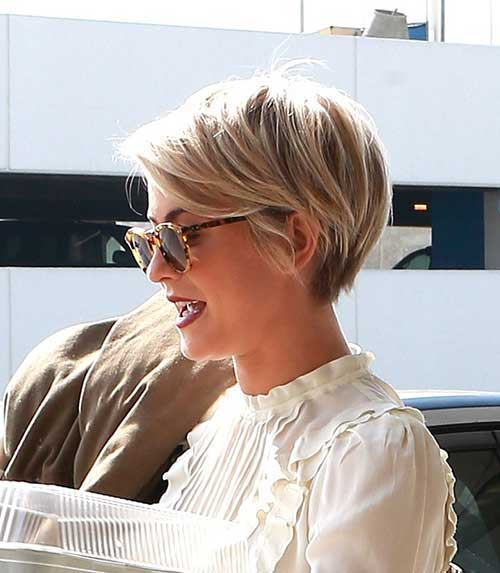 Blonde Pixie Hair Style 2015