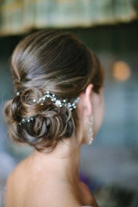 Bridal Elegant Short Hair Ideas