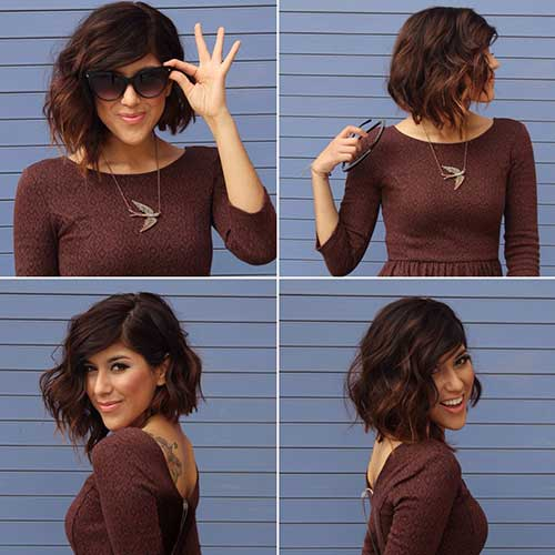Chic-Wavy-Hairstyles-for-Short-Hair