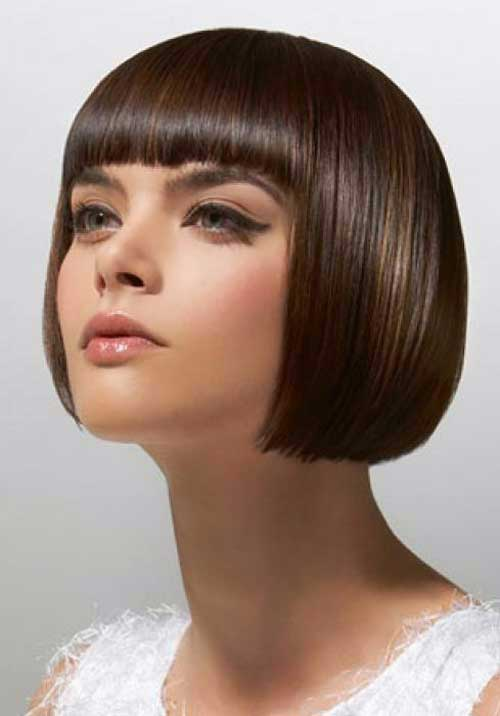 Chinese Bob Haircut with Bangs