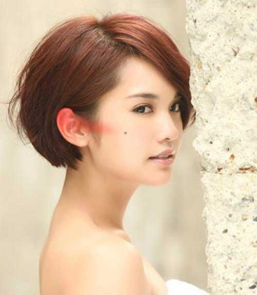 Cute Chinese Bob Hairstyle Pictures