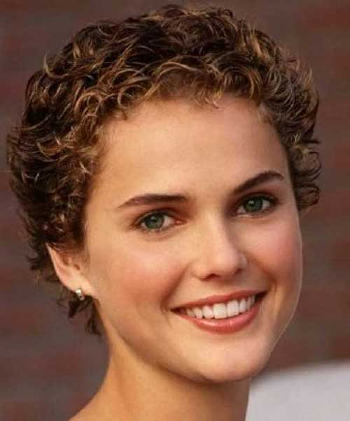 Classy Very Short Women Curly Hair