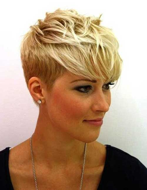 Cool Blonde Pixie Cuts 2015