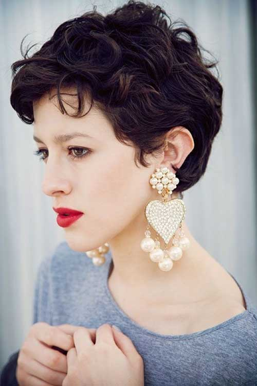 Curly Pixie Cuts Women Styles