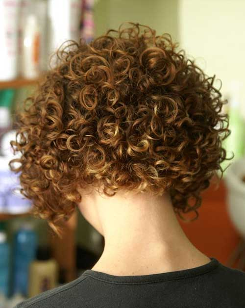 Best Curly Stacked Bobs