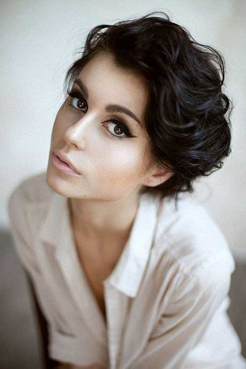 Curly Wavy Pixie Cuts Ideas