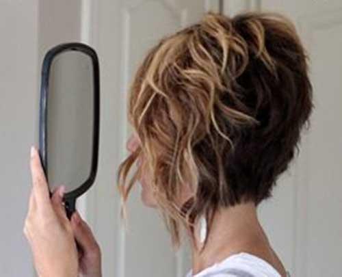 Curly Wavy Short Hair