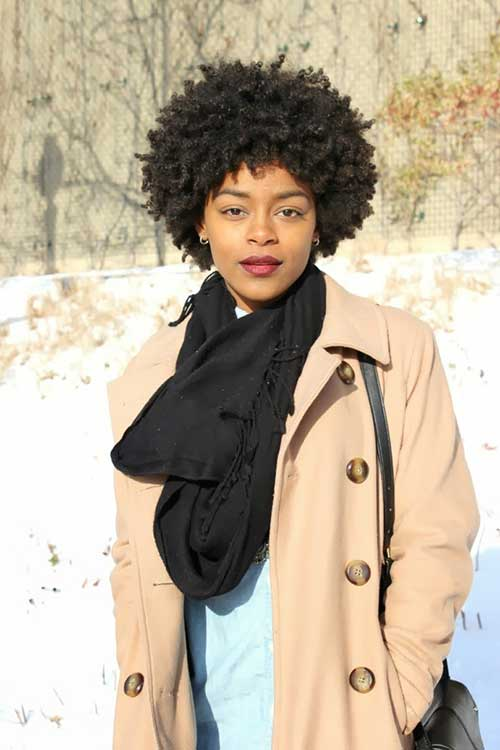 Cute-Hairstyles-For-Short-Afro-Hair