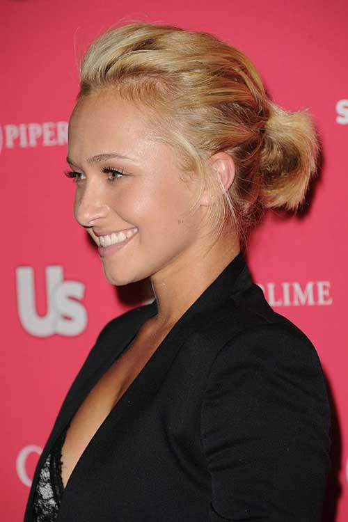 Cute Ponytail Hairstyles for Short Red Hair