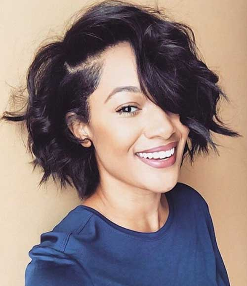Cute Short Flexi Rod Bob Cut