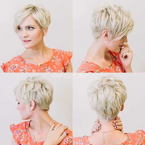 Cute Short Fine Hairstyles 2015