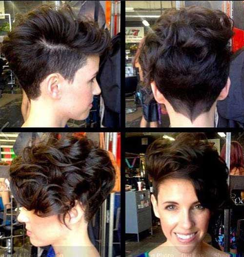 Cute Short Curly Hair Cuts