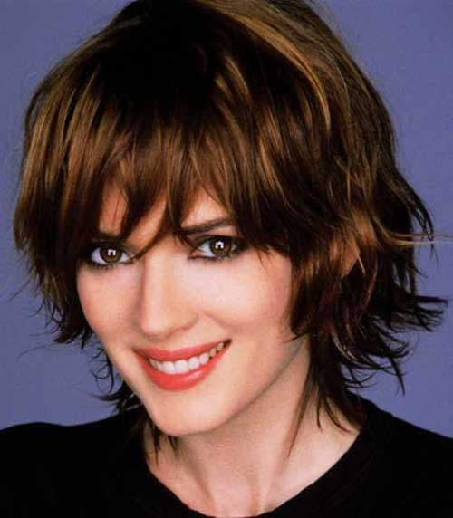 Cute Short Layered Bob Hairstyles