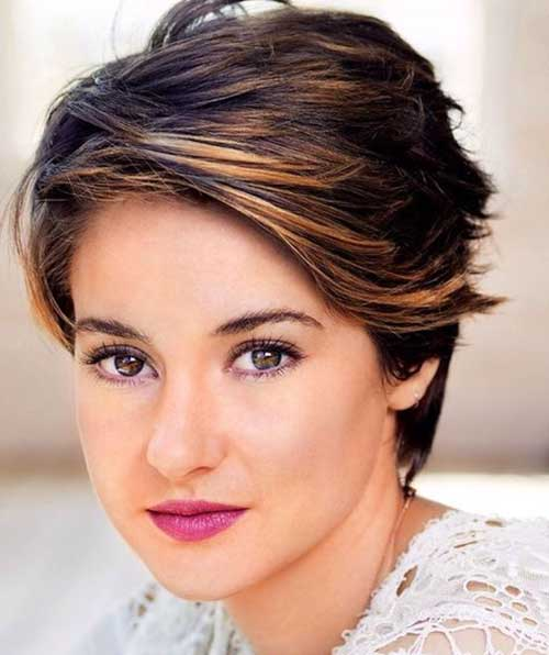 Cute Short Thick Hair Pixie Cuts