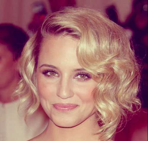 Elegant Curly Wavy Short Hairstyles