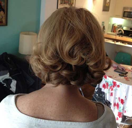 Elegant Hairstyles Short Hair Back