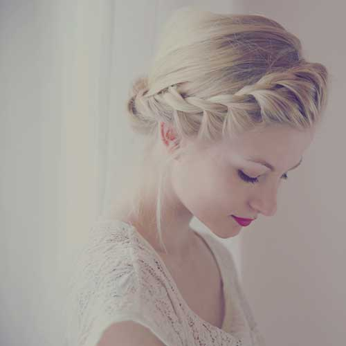 Elegant Crown Braid Styles for Short Hair